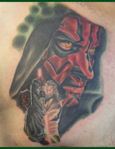 Darth maul michael wesley l